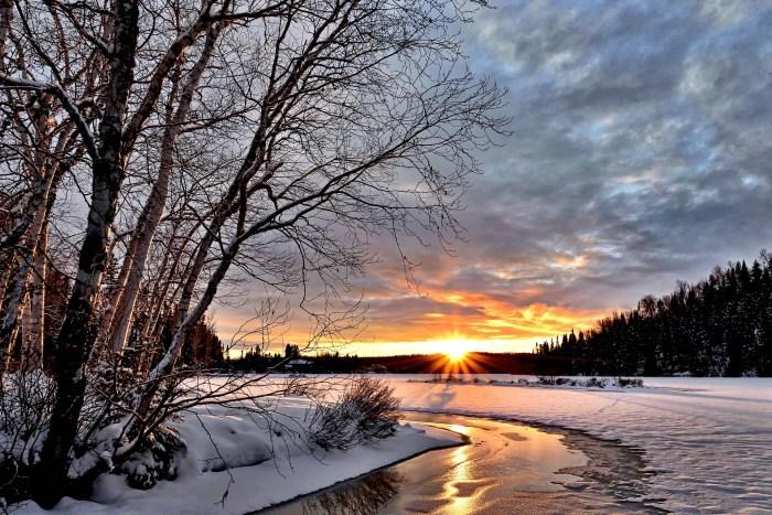 Winterlandschaft 2017 - Ferienhof Thommes Basberg