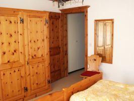 Ferienwohnung Engadin Silvaplana  Schlafzimmer