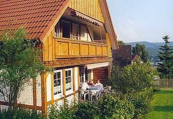 Luxus Ferienhaus 2 Ferienwohnungen am Teutobugerwald zum Superpreis in Glashtte am See