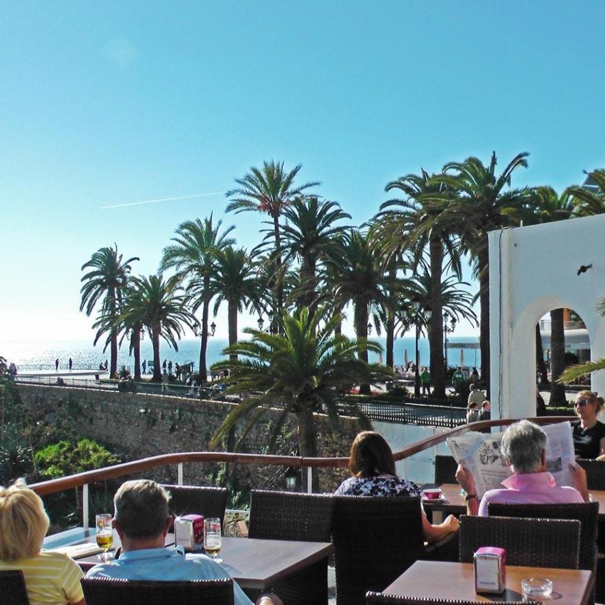 Nerja - Blick auf den Balcon de Europa