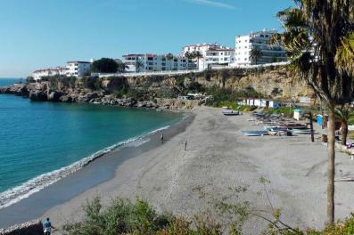 Playa Salon Nerja