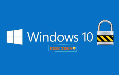 cara mengunci laptop windows 10