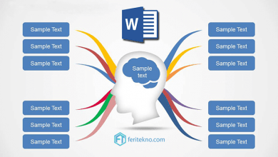 cara membuat mind mapping di word