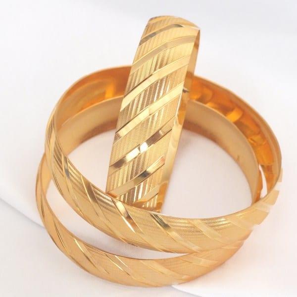 Altın Kaplama 1.5 cm Bilezik