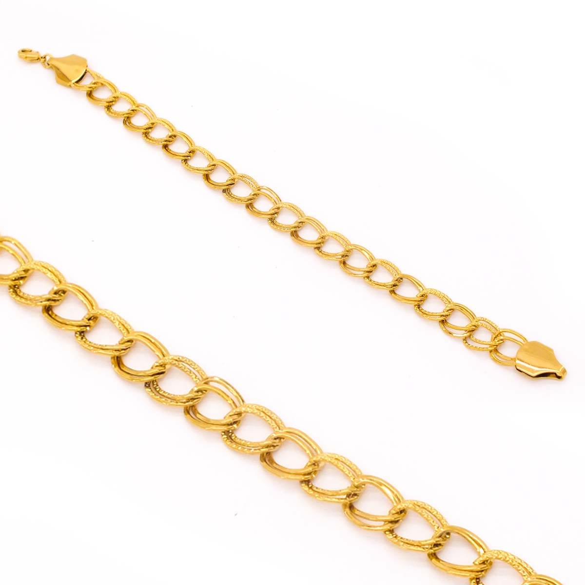 Altın Kaplama Lazerli İnce Samanyolu Bileklik BLK-351