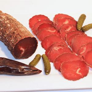Saucisse seche Ferme Auzkia