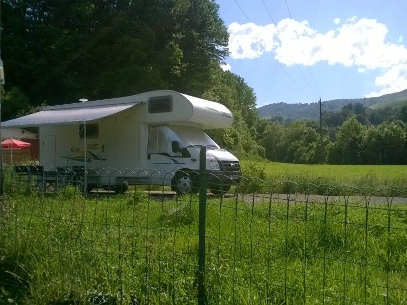 Nous Accueillons les Campings-Car à la ferme Auzkia