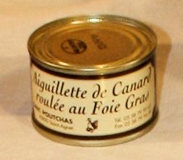 Ferme Poutchas - AIGUILLETTE DE CANARD ROULÉE AU FOIE GRAS