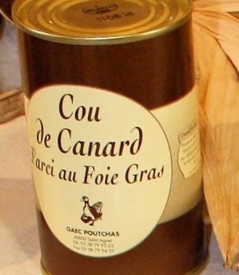 Ferme Poutchas - COU DE CANARD FARCI AU FOIE DE CANARD