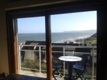 Terrasse avec vue sur la Baie de Wissant