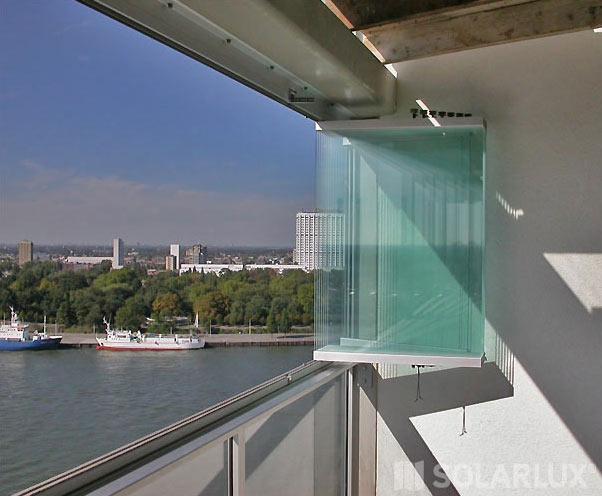 Vitrages de balcon  Fermelec