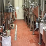 conical fermenters walkway