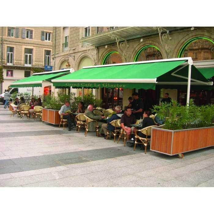 store terrasse double pente xxl motorise etape requise
