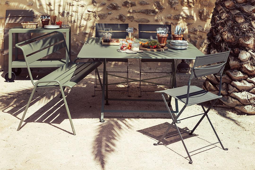 cargo table garden table for 8