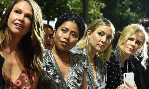 Yalitza Aparicio roba miradas durante el New York Fashion Week