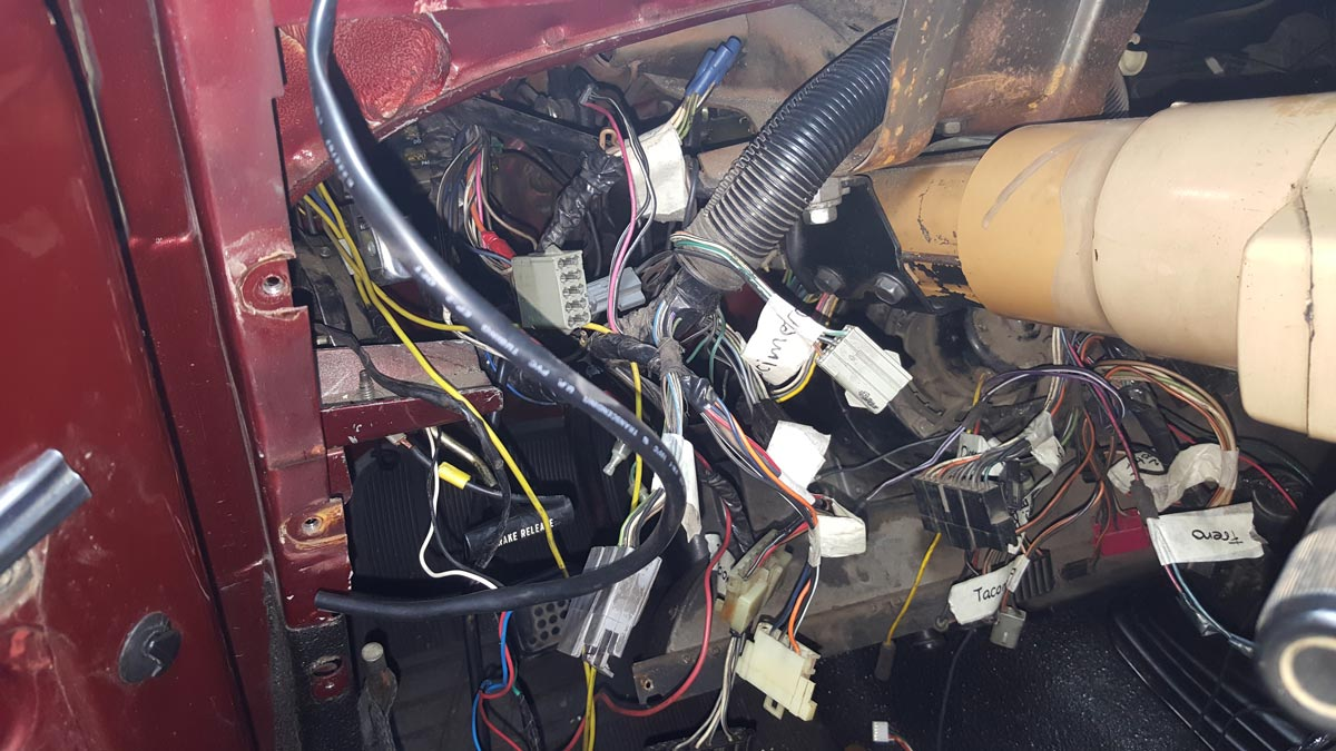 Jeep Wrangler Hardtop Wiring Harness Removal Along With 97 Jeep