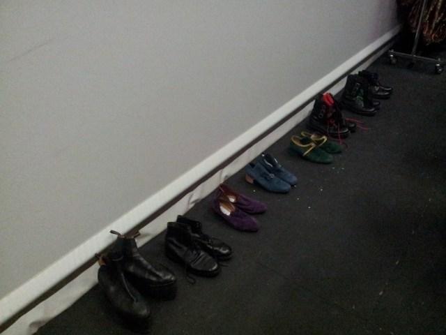 Muchos de esos zapatos nos los acabamos poniendo los mismos dos actores.