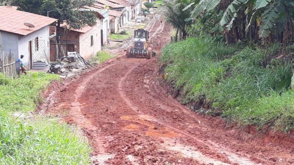 Rua do Evangelho passa por reparos