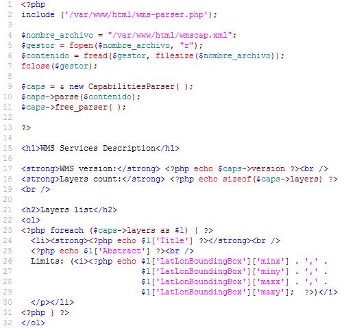Code WMS Capabilities