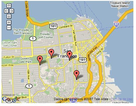 Google Maps com Rails