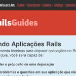 Ajude na tradução do Rails Guide Brasil