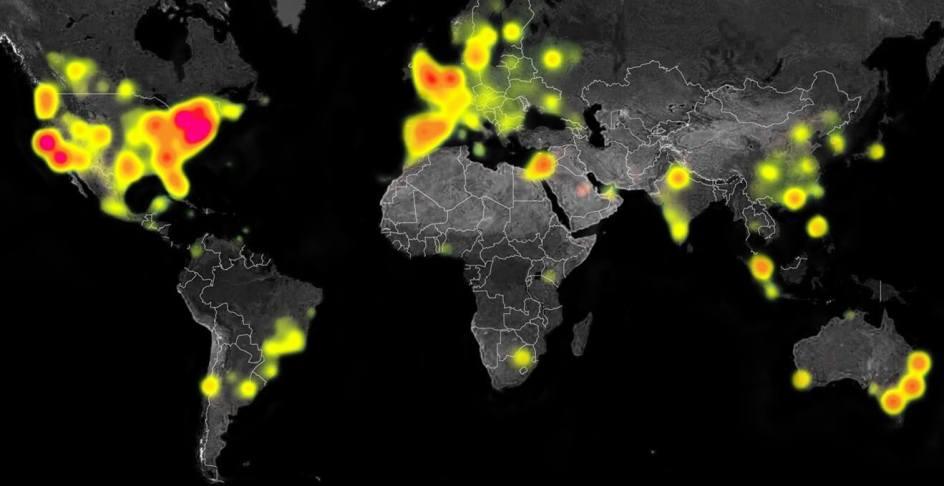 Criando um heatmap com o Leaflet – Blog do Fernando Quadro