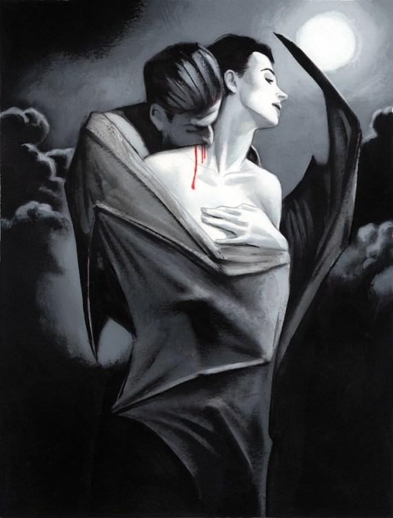 Dracula 10 El abrazo Bram Stoker Fernando Vicente