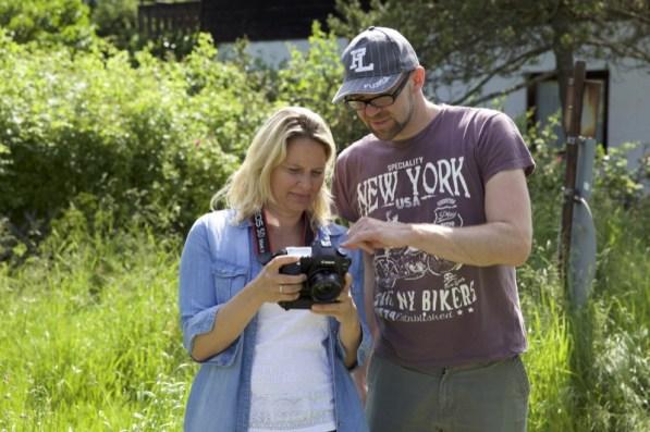 Fotokurs Grassau - so viele Knöpfe