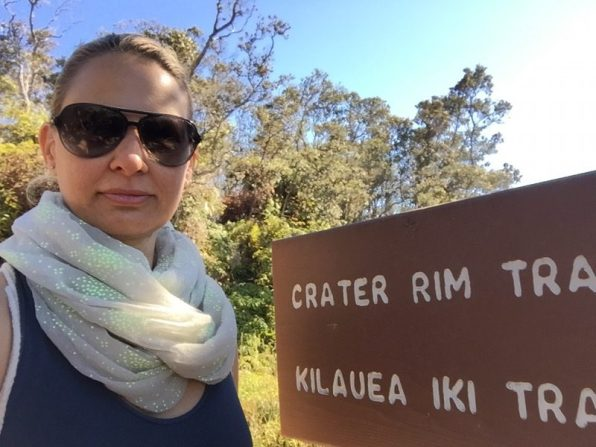 Big Island Hawaii - auf dem Crater Rim Trail im National Park Volcano