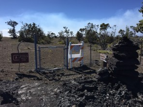 Big Island Hawaii - mal wieder closed im National Park Volcano