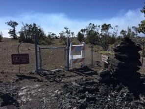 Big Island Hawaii - mal wieder closed im National Park Volcano