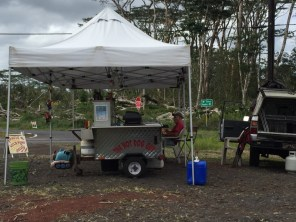 Big Island Hawaii - Pahoa - Hot Dog Guy