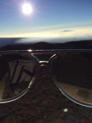 Big Island Hawaii - Visitor Center Mauna Kena - da braucht man schon eine Sonnenbrille