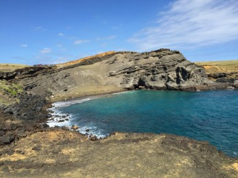 Big Island Hawaii - Green Sands Beach - endlich
