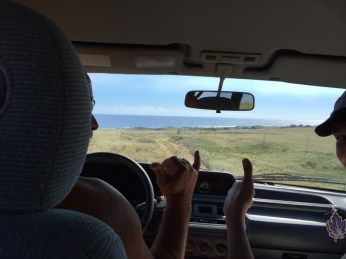 Big Island Hawaii - Green Sands - Rückweg im Truck