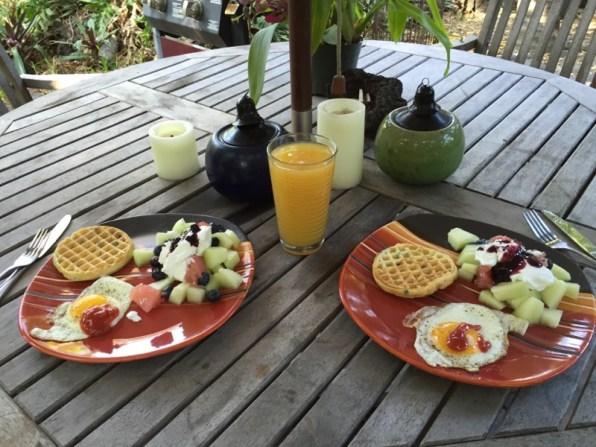 Big Island Hawaii - Captain Cook - Blaubeerfrühstück