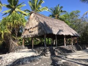 Big Island Hawaii - Captain Cook - Historical Park - Haus