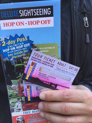 San Francisco - Tickets Hp on - Hop off