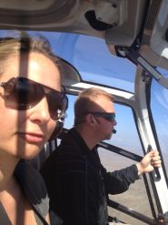 Big Island Hawaii - Helicopter - Grüsse aus dem Cockpit