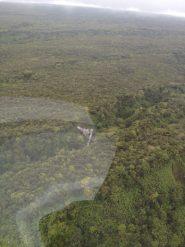 Big Island Hawaii - Helikopter - abgestürzter Bomber