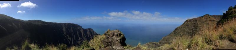 Kauai Hawaii - Napali Coast von oben - was für ein Panorama