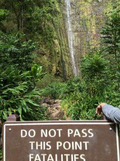 Maui Hawaii - Wasserfälle - eigentlich ab hier nicht weiter