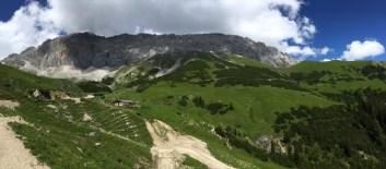 Leutasch - Aufstieg zur Rotmoosalm