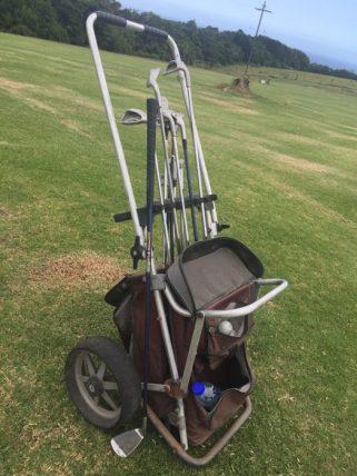 Afrika-Garden-Route - Misty Mountain Lodge - komplett abgerockter Golfbag-Einkaufswagen-Hybrid