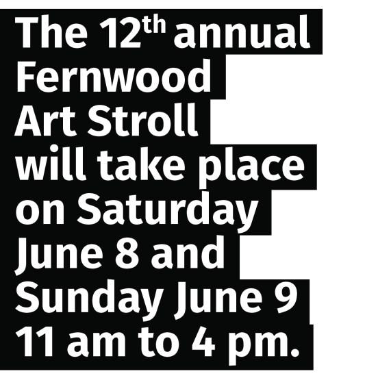 THE 2019 FERNWOOD ART STROLL