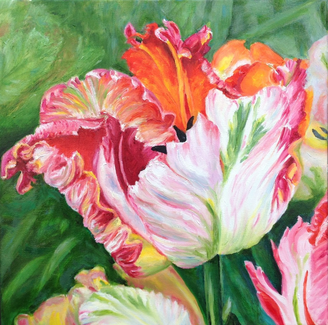 flower painting by Gail Brown
