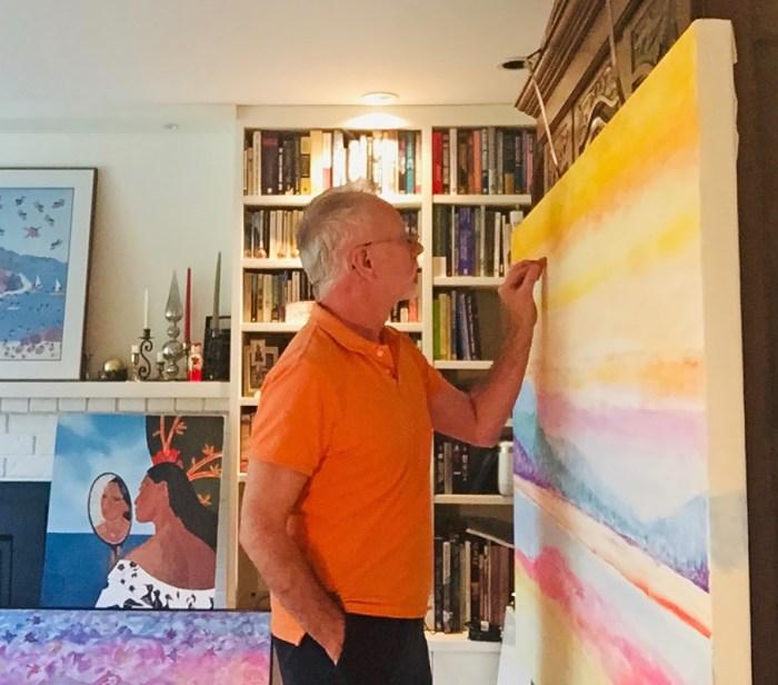 John James O'Brien at work