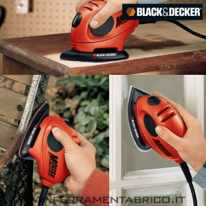 LEVIGATRICE MOUSE BLACK DECKER KA161