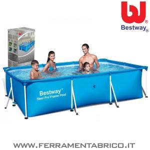 PISCINA STEEL PRO 300X201X66 BESTWAY