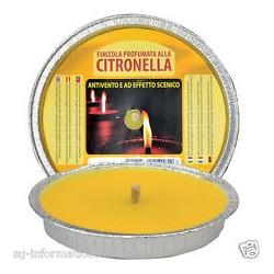Citronella antizanzare cero da 14 cm  Ferramenta Cattaruzzi